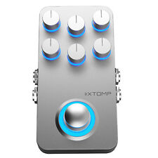 Hotone XTOMP Bluetooth True Buffered Bypass Guitar Multi Effects Stompbox Pedal