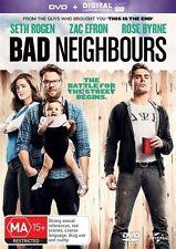BAD NEIGHBOURS Seth Rogen DVD
