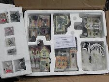 Vintage TUPPERWARE VILLAGE CHRISTMAS TOWN ACCESSORY FIGURES Lighted 5 Houses CL