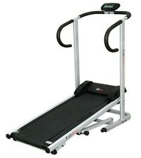 Lifeline Manual Treadmill Foldable Jogger With Electronic Display