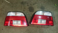 BMW E39 5 SERIES SALOON CELIS FACE LIFT REAR LIGHTS, M SPORT CLEAR INDICATORS