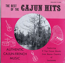 Various ‎Artists Best Of The Cajun Hits SEALED Swallow LP New/old stock