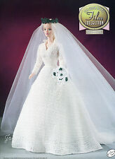 The Sound of Music, Annie's Golden Age of Film crochet patterns fit Barbie dolls