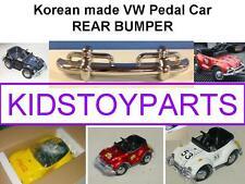 VINTAGE REAR BUMPER FOR VW VOLKSWAGEN BEETLE BUG PEDAL CAR