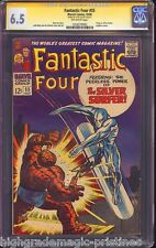 FANTASTIC FOUR # 55 CGC 6.5 SS STAN LEE SIGNED  CGC #  1203279002