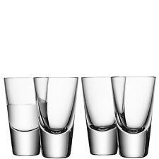 LSA Bar Vodka Glass - Clear - Set of 4