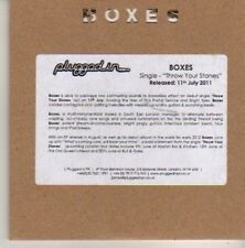 (CN539) Boxes, Throw Your Stones - 2011 DJ CD