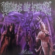 Cradle Of Filth - Midian Signed Autographed Cd