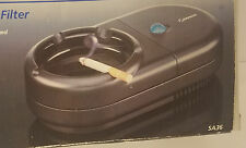 Norelco Electronic Ashtray with Filter Black Smokeless Ashtray New in Box