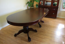 "92"" Solid Wood Poker Table plus Dining Cover MRC Poker Tables The Monarch"