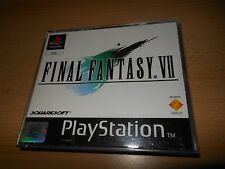 FINAL FANTASY VII 7 GIOCO ps1 PLAYSTATION 1. PAL GRATIS UK