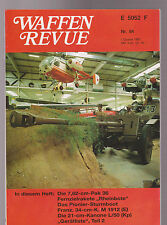 Waffen Revue Nr.84 I.Quartal 1992 Inhalt siehe Bild