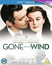 GONE WITH THE WIND (1939) 75TH ANNIVERSARY EDITION BLU RAY BOXSET REGION B NEW
