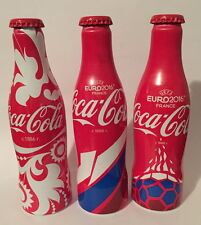 Coca Cola Uefa Euro 2016 Russian  set - 3 empty bottles