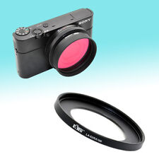Metal Filter Lens Adapter 52mm for Sony Cyber-shot DSC-RX100 III UV CPL ND Cap