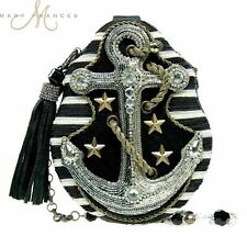 Mary Frances Hooked Cruise Wear Anchor Beaded Bag Purse NWT Authorized Dealer