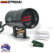 EPMAN 37mm Compact Micro Digital Smoked Lens AIR FUEL Gauge Universal Fit