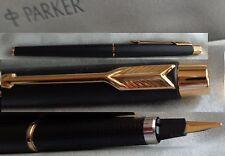Parker Classic Füllfederhalter (F)  mit Konverter matt schwarz