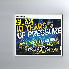 Mixmag: Slam - 10 Years Of Pressure - CD MIXED - TECHNO TECH HOUSE ELECTRO