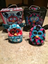 Furby Boom Pair Neat *Holiday Edition* And Other W/ Original Boxes