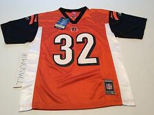 CINCINNATI BENGALS RUDI JOHNSON REEBOK NFL PLAYERS JERSEY YOUTH SIZE L NWT