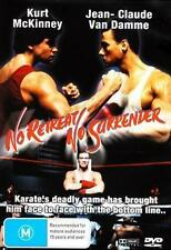 NO RETREAT NO SURRENDER - JEAN-CLAUDE VAN DAMME ACTION NEW DVD MOVIE SEALED