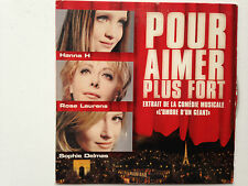 CD SINGLE COMEDIE MUSICALE L'OMBRE D'UN GEANT // POUR AIMER PLUS FORT