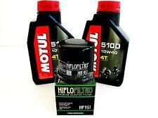 KIT TAGLIANDO OLIO MOTUL 5100 10W-40 + FILTRO per HONDA SH 300