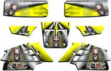 YAMAHA BANSHEE GRAPHICS WRAP DECAL STICKER KIT TURBO CHARGED YELLOW