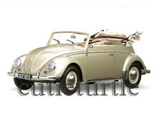 Sun Star 1953 Volkswagen Beetle Kafer Convertible 1:12 Metallic Beige 5212