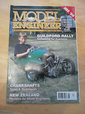 MODEL ENGINEER MAG #4105 OCT 1999 CRANKSHAFTS NEW ZEALAND GUILDFORD RALLY LNWR