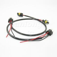 2x H4 9003 to 9006 HID Conversion Wiring Harness For High/Low beam headlight kit