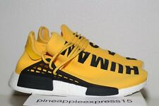 Adidas NMD PW Human Race Yellow US 9.5 Pharrell Williams BB0619 NEW Hu Boost