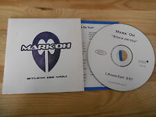 CD Pop Mark Oh' - Stuck On You (1 Song) Promo ORBIT / EPIC +Presskit