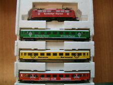 Trix HO Bundesliga Express loco and train 21210 RARE