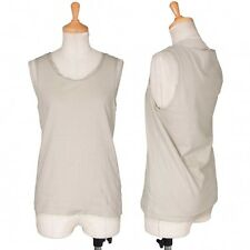 MARGARET HOWELL Sleeve collar switching tank top Size 2(K-29059)