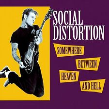 Social Distortion - Somewhere Between Heaven And Hell 180g vinyl LP NEW/SEALED