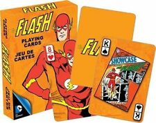 THE FLASH RETRO - PLAYING CARD DECK - 52 CARDS NEW -  JUSTICE LEAGUE 52299