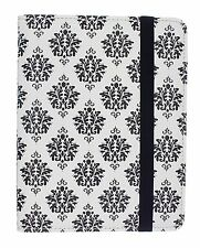 Trendz E-Reader Case Black&White fleur de lis Kindle Paperwhite Kobo Nook Touch