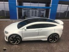 TESLA MODEL X WHITE RARE 1:64 LIMITED EDITION DIECAST COLLECTIBLE MODEL