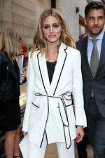 SOLD OUT ZARA STUDIO CREAM BLAZER OLIVIA PALERMO BLOGGERS SIZE L LARGE