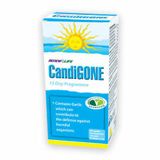 Renew Life Candigone 60 Capsules Candida Relief Yeast Infection Help .
