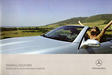 Mercedes-Benz Personal Factory Collection 2005-06 UK Market Sales Brochure