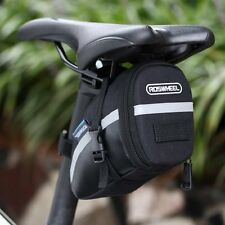 ROSWHEEL Waterproof Bike Saddle Bag Cycling Seat Pouch Bicycle Tail Rear Pannier