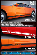 Dodge Charger 2014 2015 Rocker Panel Side Stripes 2011 2012 2013 Graphic Decals