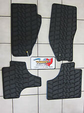 2011 & 2012 Jeep Liberty Rubber Slush Mats Floor Mats Set of 4 Mopar Slate Grey