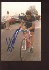 JESUS HERNANDEZ UBEDA Photo Signée 1985 cyclisme ciclismo TOUR DE FRANCE Cycling
