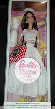 Barbie IBIZA PINK PARTY + outfit MFDS Madrid Fashion doll convention 2015 LE 30