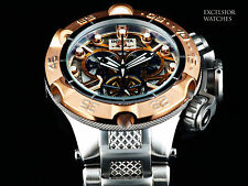 NEW Invicta Subaqua Noma V Swiss Made COSC ETA Chrono Skeletonized 500M Diver