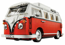 Awesome Brand New LEGO 10220 Volkswagen T1 Camper Van Building Toy Model Blocks